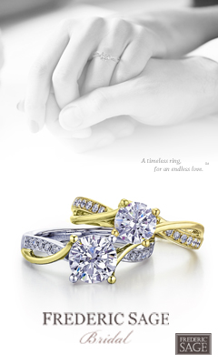 Frederic Sage Bridal - a timeless ring for an endless love