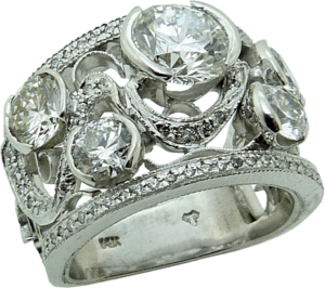 Custom Designed Diamond Ring