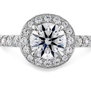 Illustrious Halo Engagement Ring by Hearts on Fire