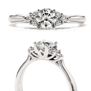 Felicity Queen Anne Hearts On Fire Engagement ring
