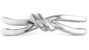 Love Code Forget-You-Never Band by Hayley Paige for Hearts on Fire in White Gold