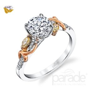 Reverie Bridal Solitaire Engagement Ring by Parade