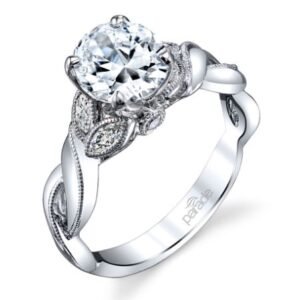 Lyria Bridal Solitaire Engagement Ring by Parade