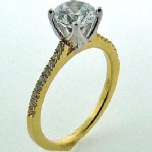 New Classic Bridal Solitaire Engagement Ring by Parade