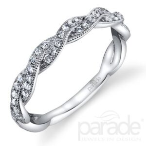 Hemera Bridal Wedding Band by Parade