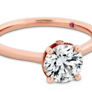 Sloane Silhouette Engagement Ring by Hayley Paige for Hearts on Fire